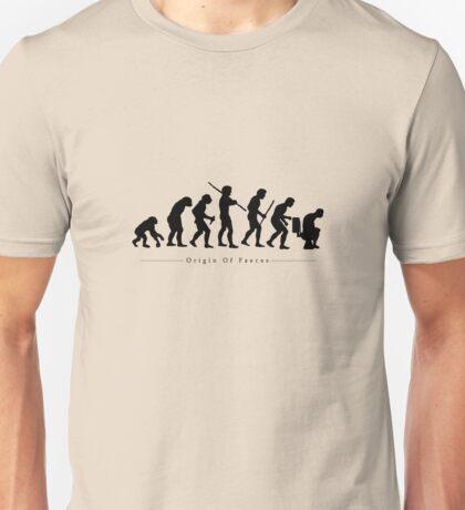 Origin Of Faeces Unisex T-Shirt