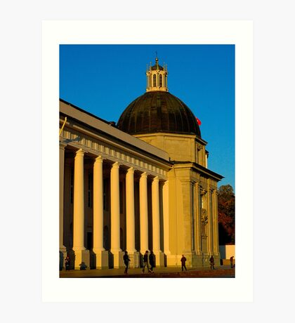 """Temples - """"The Cathedral of Vilnius (LT)"""" p.2 Art Print"""