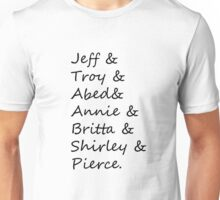 community: greendale human beings Unisex T-Shirt