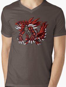 Red Orb Akantor Mens V-Neck T-Shirt