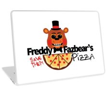Modern Five Nights at Freddy's Logo (Possessed Version) Laptop Skin