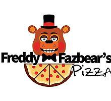 Modern Five Nights at Freddy's Logo by Erich Schuler