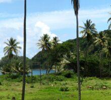 a stunning Togo landscape Sticker