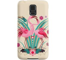 LOVE & FLAMINGO  Samsung Galaxy Case/Skin