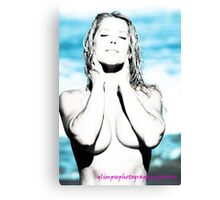 out of the blue... Canvas Print