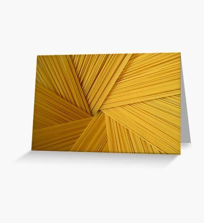 Spaghetti 1 Greeting Card