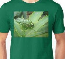 Silver-spotted Bladderhopper on an Aloe Unisex T-Shirt