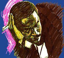 Jazz Portraits-Bud Powell by Francesca Romana Brogani