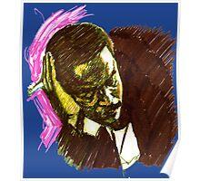 Jazz Portraits-Bud Powell Poster