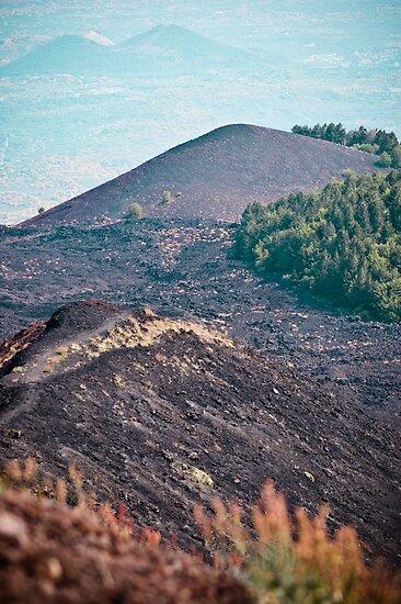 Slopes of Mount Etna, Sicily by Caimin Jones