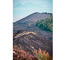Slopes of Mount Etna, Sicily Photographic Print