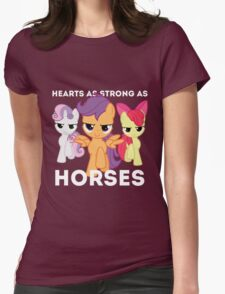 Hearts as strong as horses - CMC Womens Fitted T-Shirt
