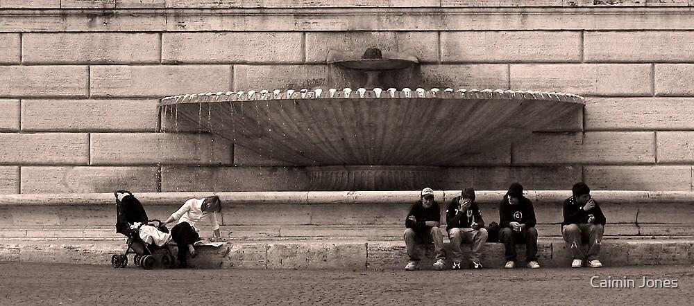 Piazza del Popolo, Rome, Italy by Caimin Jones