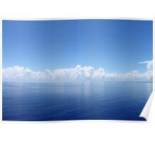 Oceanic Horizon Poster