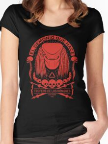 The Skull Collector Women's Fitted Scoop T-Shirt