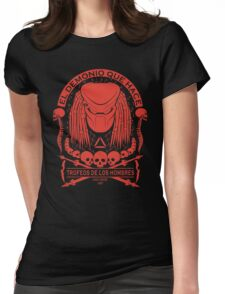 The Skull Collector - Predator Womens Fitted T-Shirt