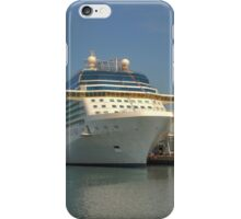Celebrity Eclipse docked in Southampton iPhone Case/Skin