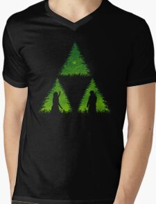 The Forces Glows Within Mens V-Neck T-Shirt