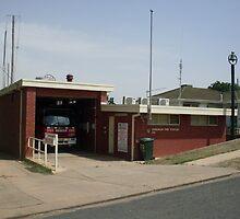 Gundagai 313 Fire Station by roybob