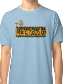 The Legendary Axe - Turbografx/PC-Engine Title Screen Classic T-Shirt