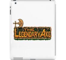 The Legendary Axe - Turbografx/PC-Engine Title Screen iPad Case/Skin