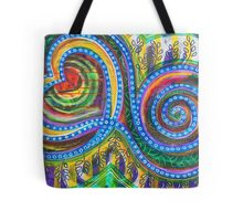 Permission to Trust your Bliss: Inner Power Painting Tote Bag