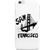 San Francisco, California Golden Gate iPhone Case/Skin