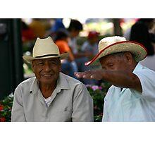 """""""Así de grande mi amigo! """" Oaxaca Plaza  Photographic Print"""