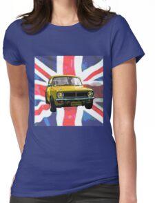 Yellow Mini Womens Fitted T-Shirt