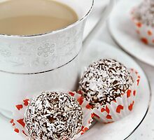 Rum balls and coffee by misstk