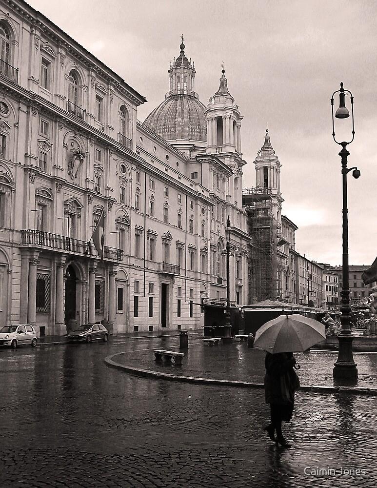 Piazza Navona, Rome, Italy by Caimin Jones