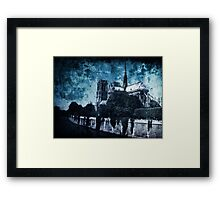 Dissipating Rapture Framed Print