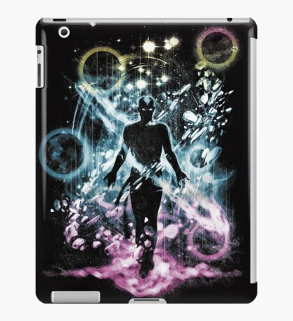 the last space bender iPad Case/Skin