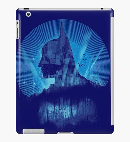 City Knight - blue version iPad Case/Skin