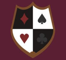 Royal Flush Gang Shield by Christopher Bunye