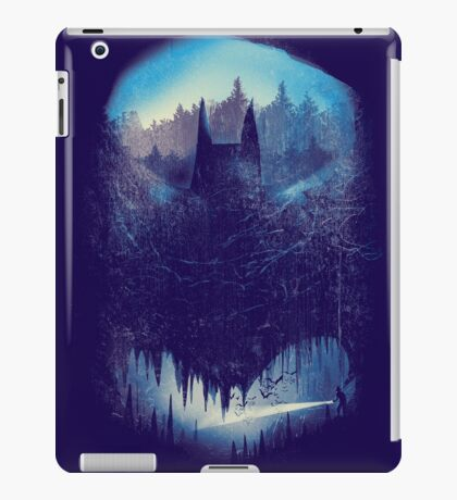 batcaving iPad Case/Skin
