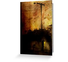 Street Light Greeting Card
