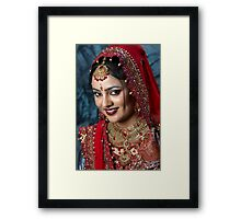 Perfect Bride Framed Print