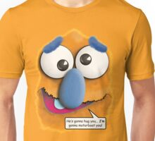 Funny Stomach Puppet - I'm gonna motorboat you! Unisex T-Shirt
