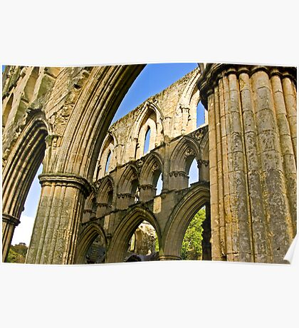 Arched Windows Poster