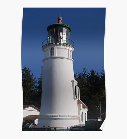 Umpqua Light, Douglas County, Oregon Poster