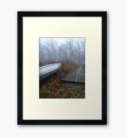 lets walk Framed Print