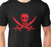 skull with swords Unisex T-Shirt