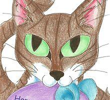 Catnip Surprise by KOKeefeArt