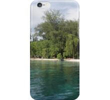 a desolate Solomon Islands landscape iPhone Case/Skin