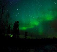Night Sky Auroras by peaceofthenorth