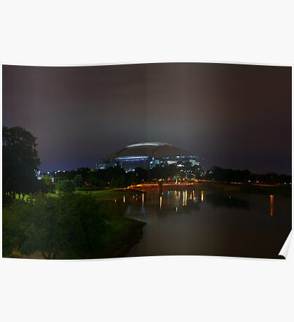 New Dallas Cowboys Stadium Poster