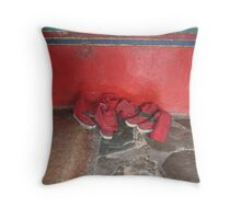 Monk's slippers Throw Pillow