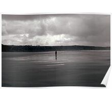 Loner, Rhosilli Bay, Wales Poster