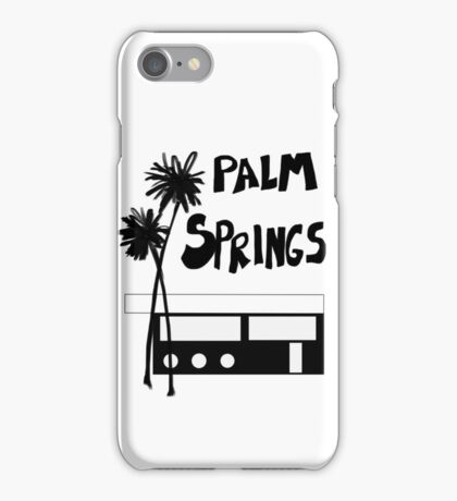 Palm Springs Vacation Travel iPhone Case/Skin